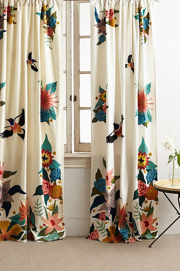 Slide View: 1: Soaring Starlings Curtain