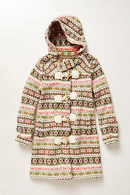 Archival Collection: Fair Isle Sweater Coat | Anthropologie