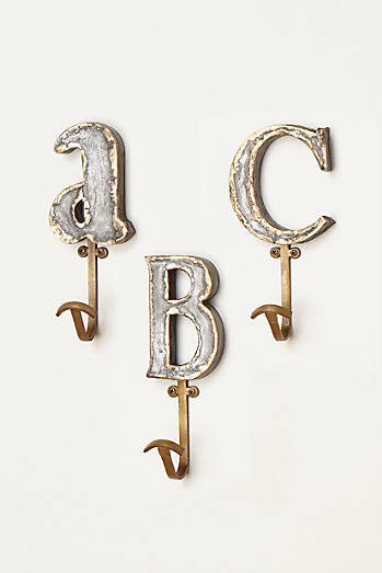Marquee Letter Hook