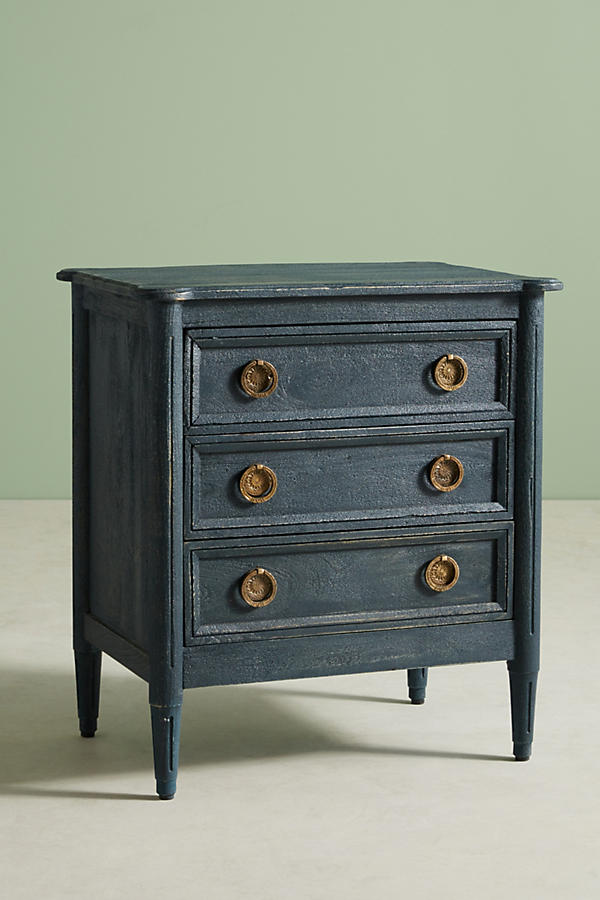 Slide View: 3: Washed Wood Nightstand