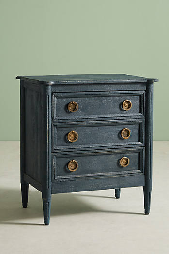 Slide View: 2: Washed Wood Nightstand