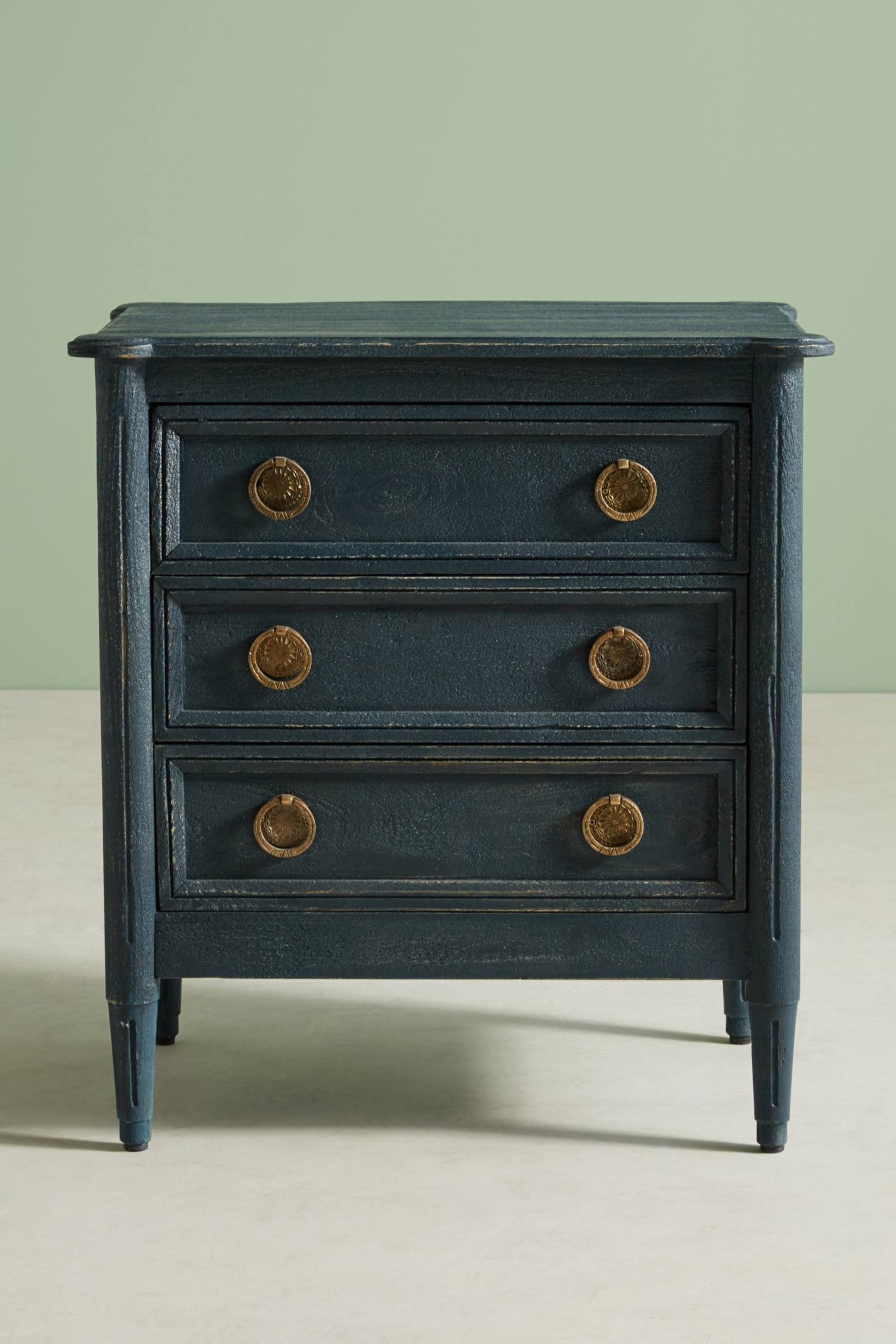 Slide View: 4: Washed Wood Nightstand