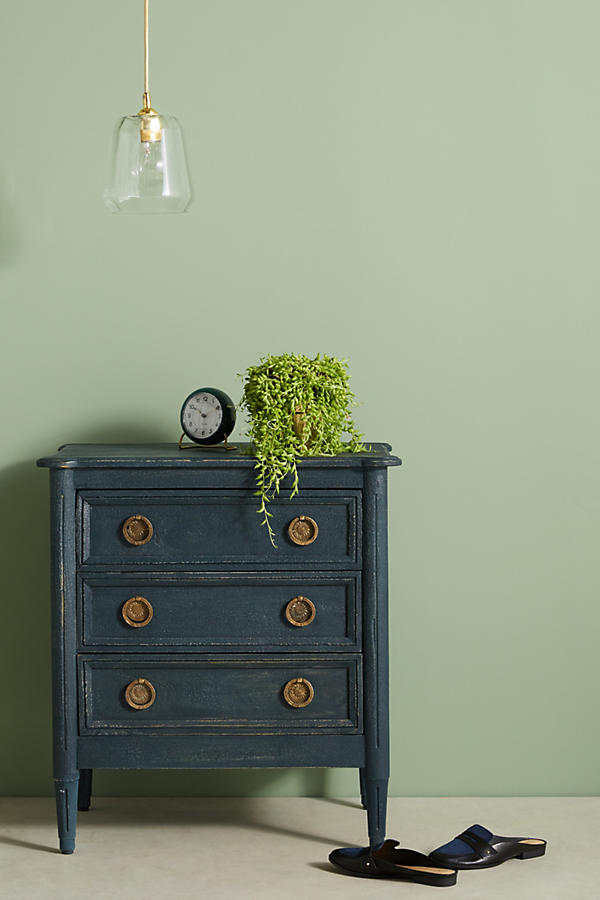 Slide View: 1: Washed Wood Nightstand