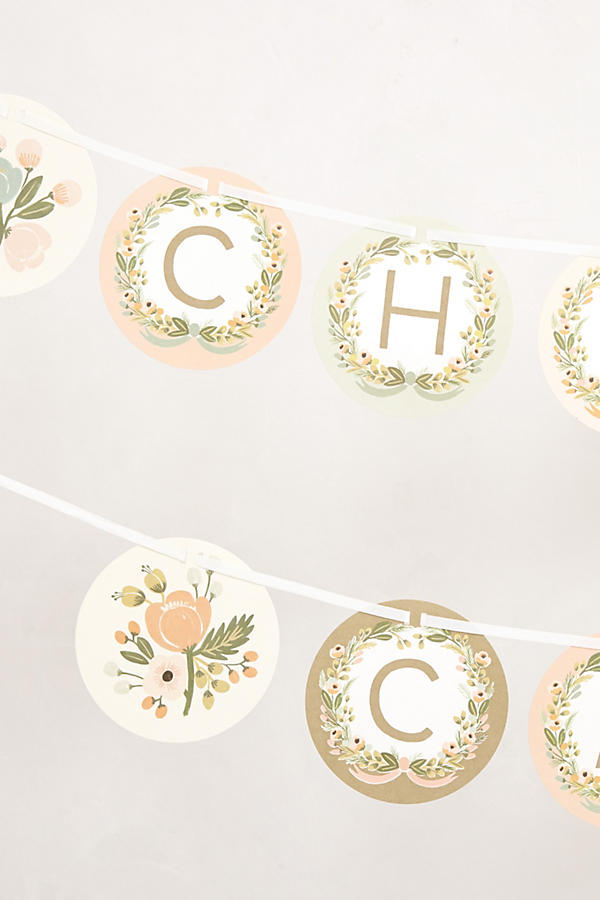 Slide View: 3: Botanical Party Garland