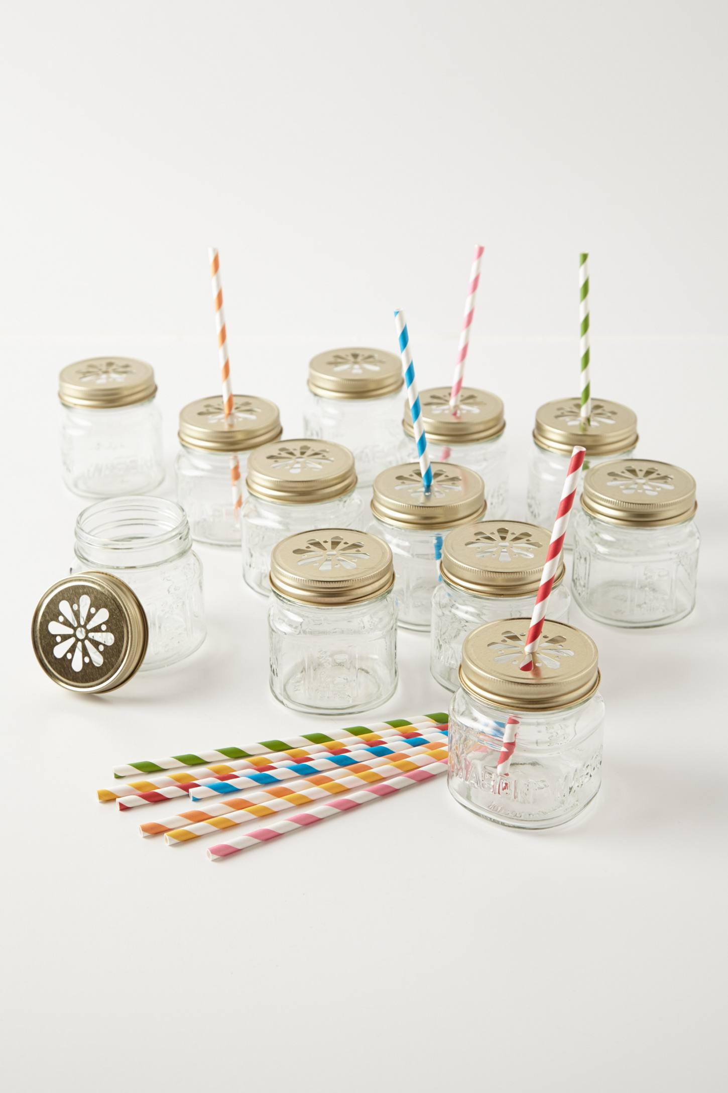 Mason Jar Sippers