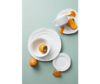 Slide View: 1: Assiette plate Glenna