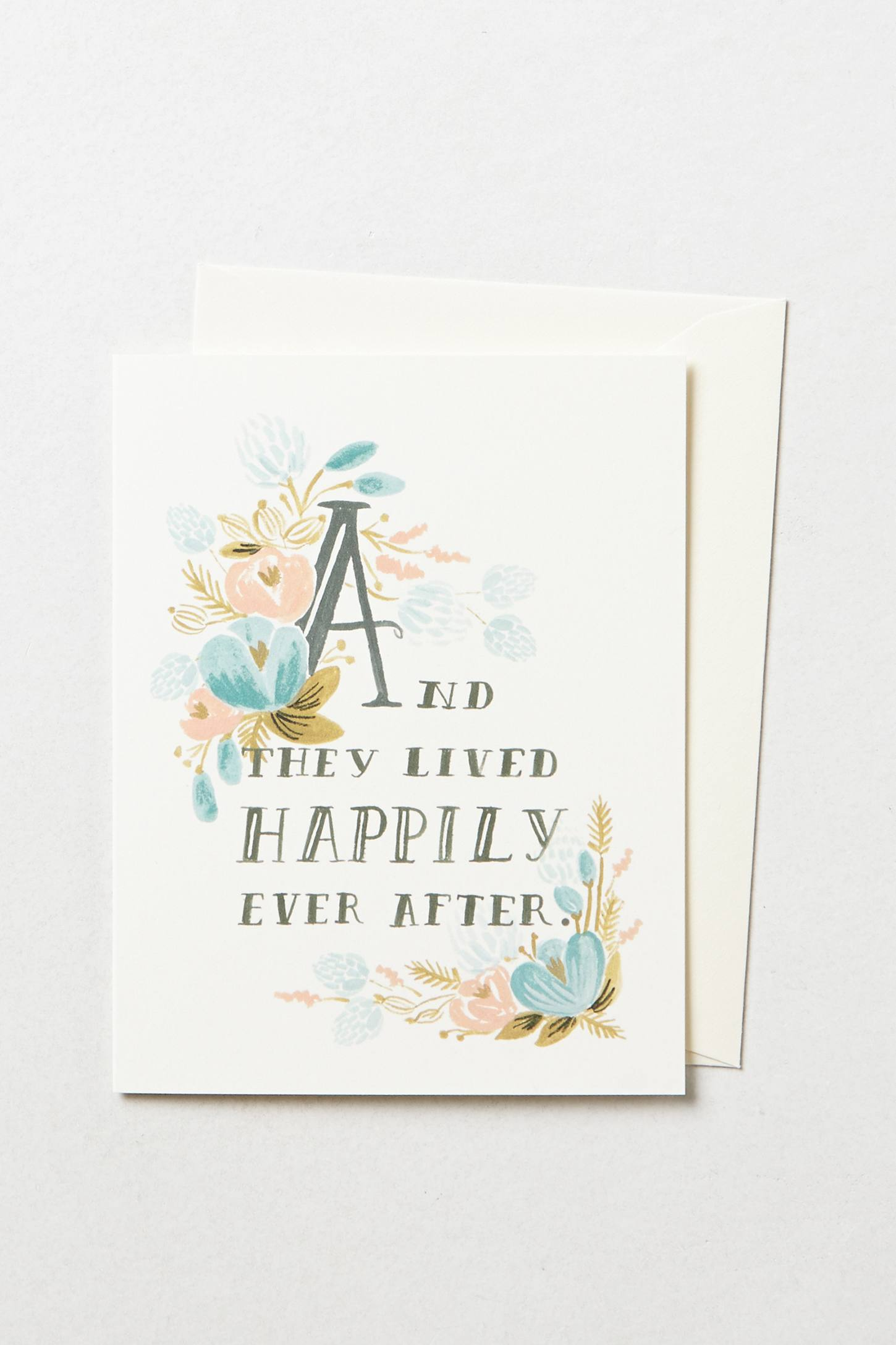 Slide View: 1: Happily Ever After Card