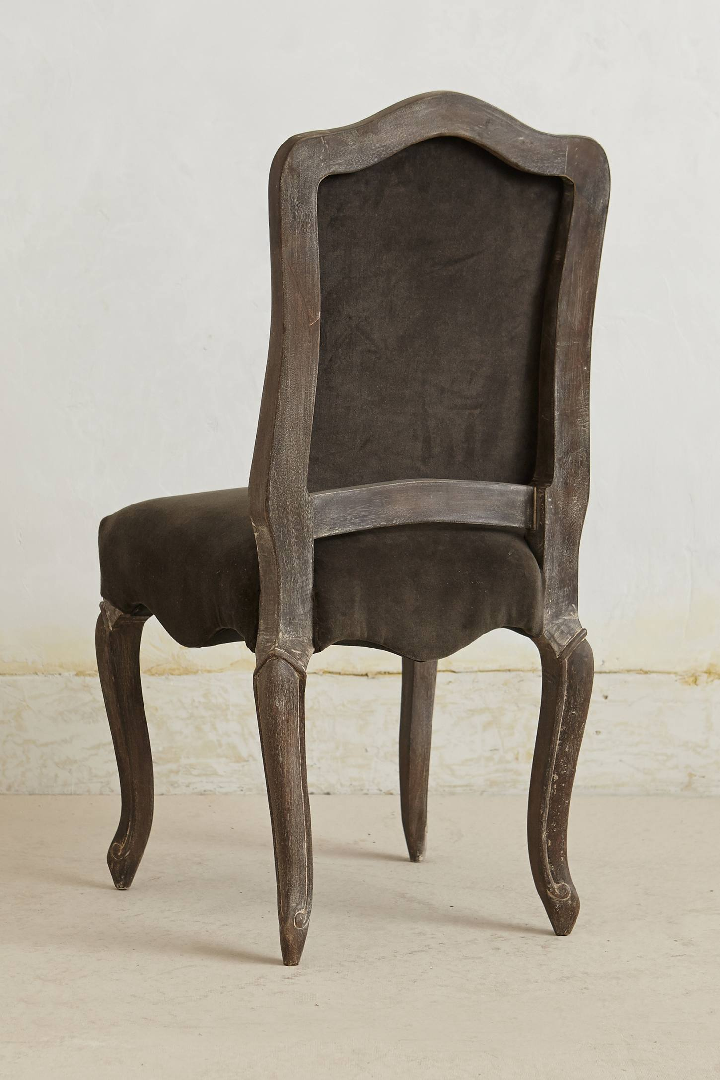 Slide View: 2: Velvet Beatrix Dining Chair