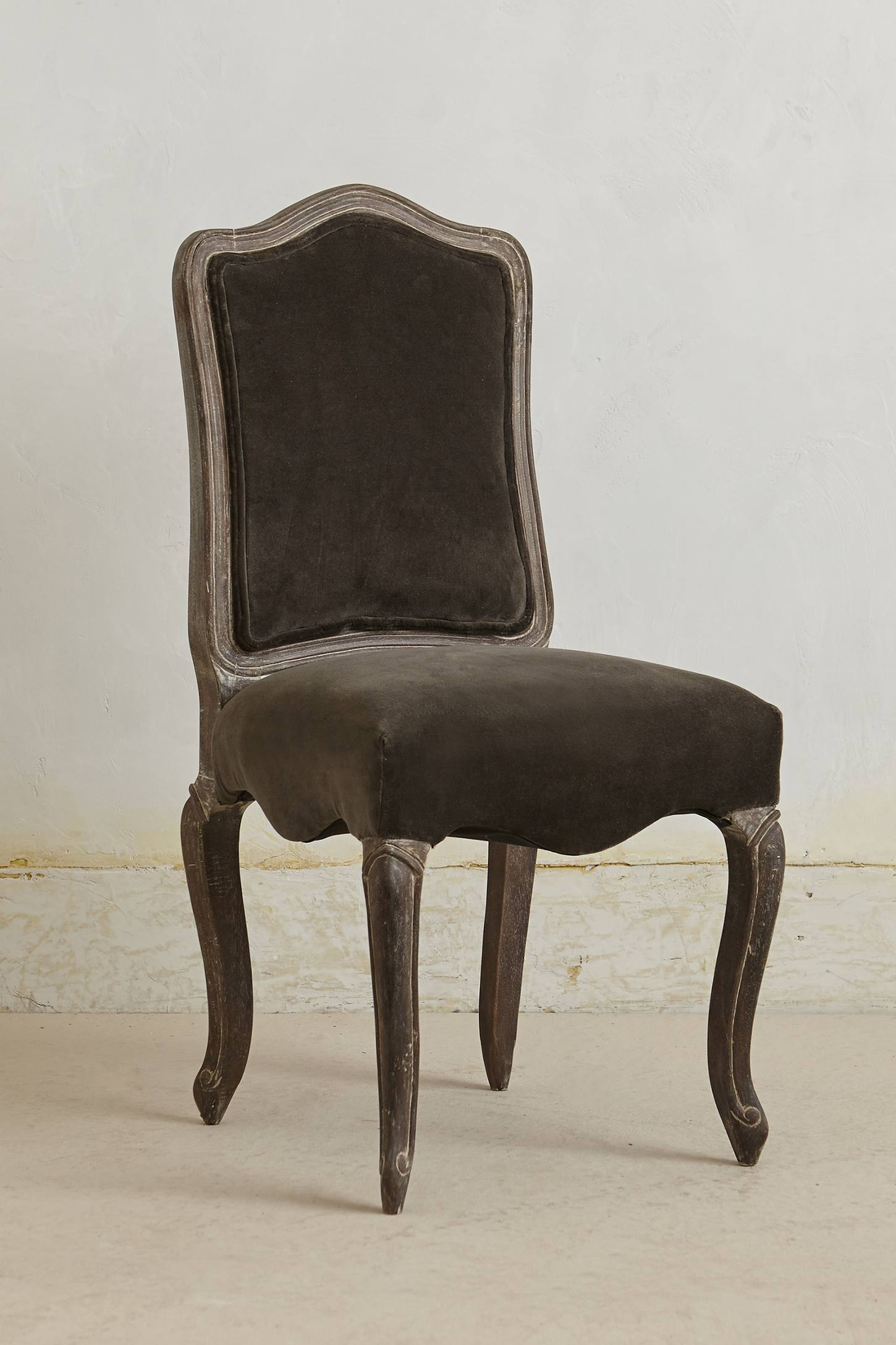 Slide View: 1: Velvet Beatrix Dining Chair
