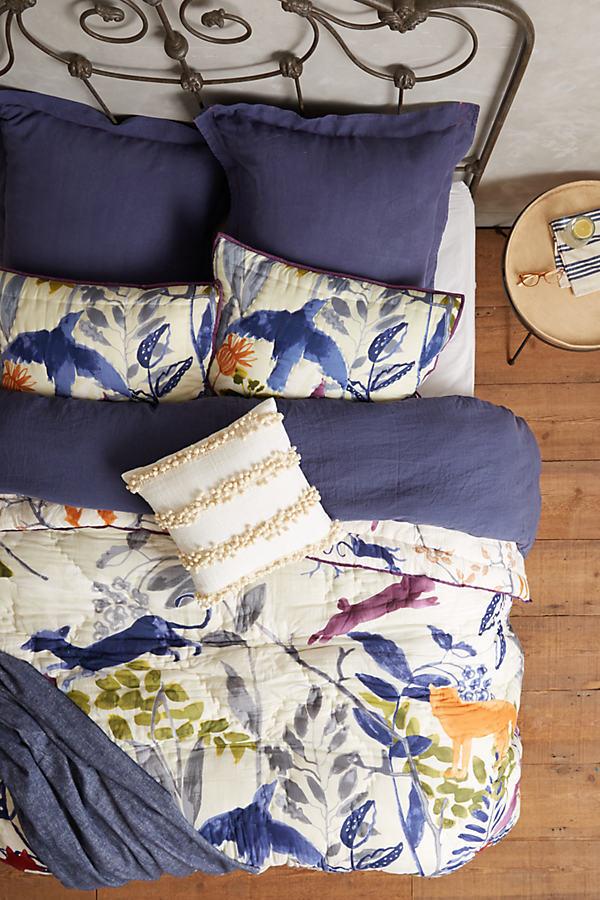 Creature Hideaway Pillowcase - A/s, Size Squar Sham