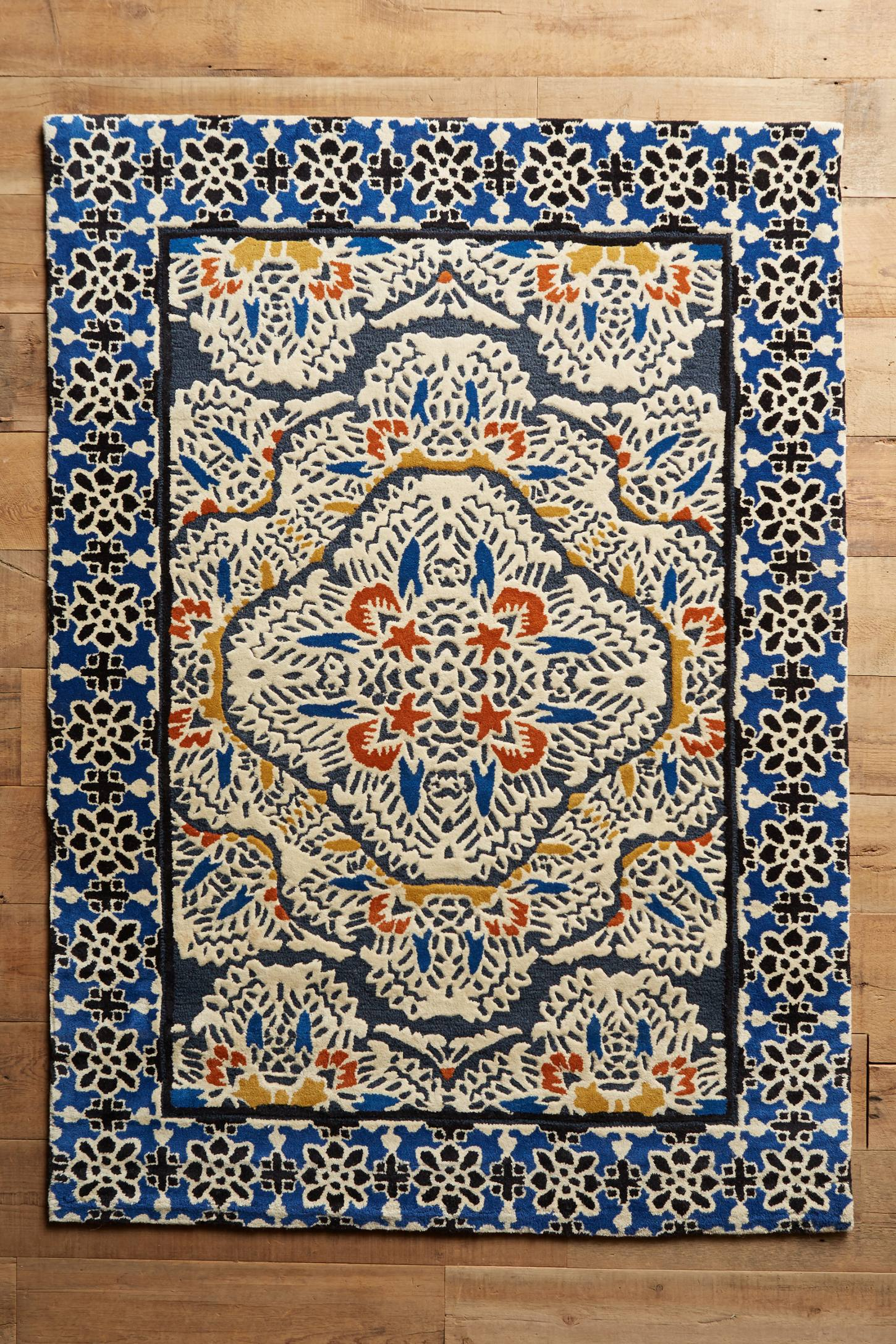 Tufted Regalia Rug Anthropologie