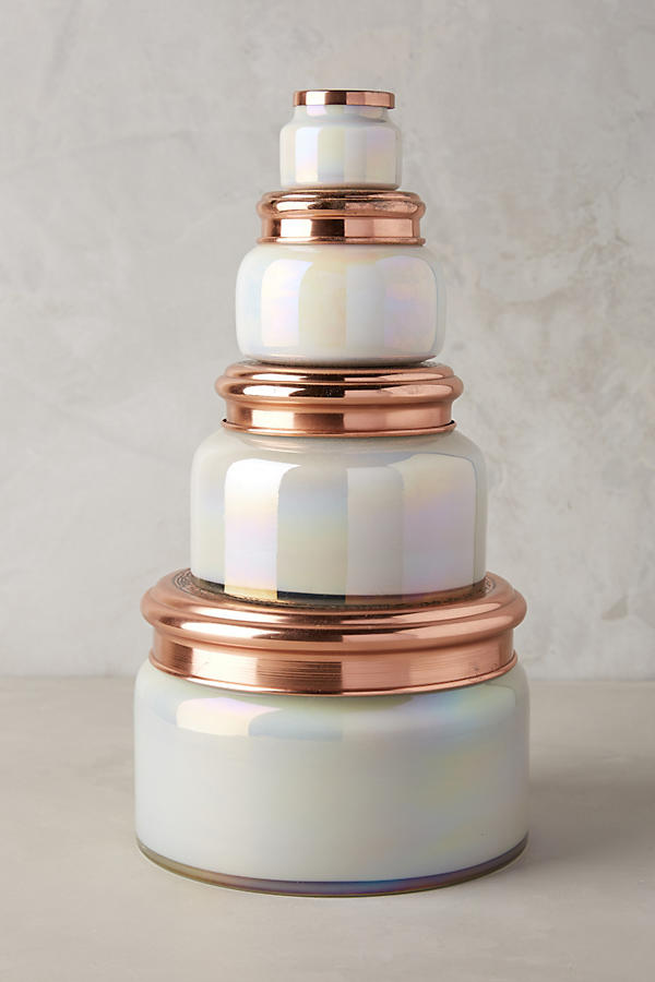 Slide View: 2: Mini Capri Blue Jar Candle