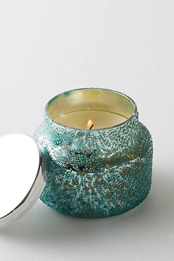 Slide View: 1: Mini Capri Blue Jar Candle