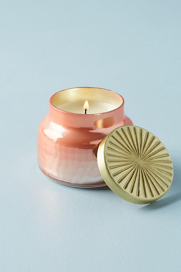 Mini Capri Blue Jar Candle - Pink