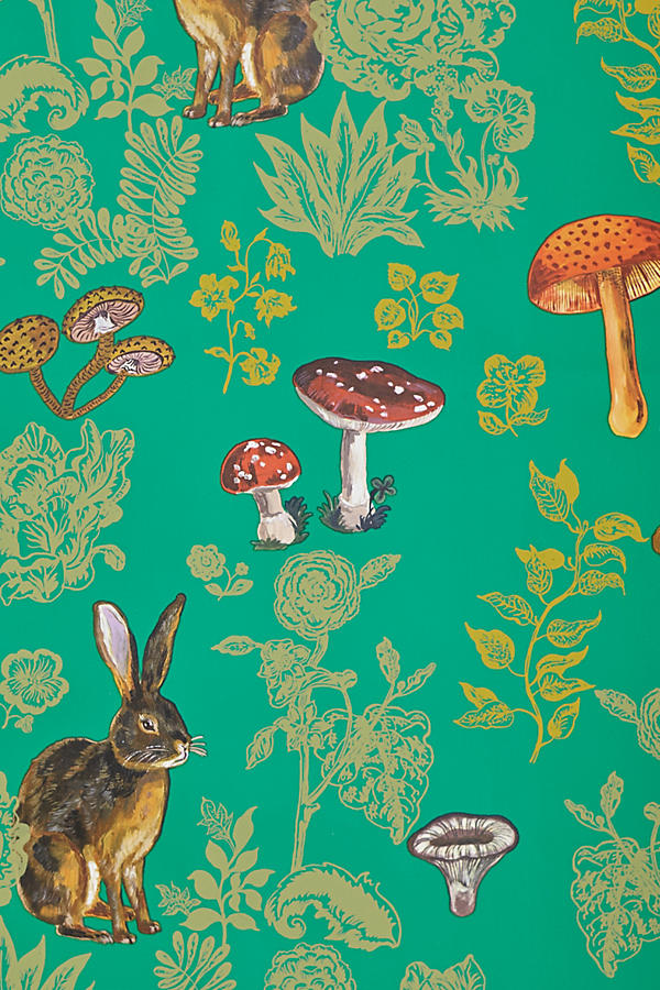 Slide View: 3: Mushroom Forest Wallpaper