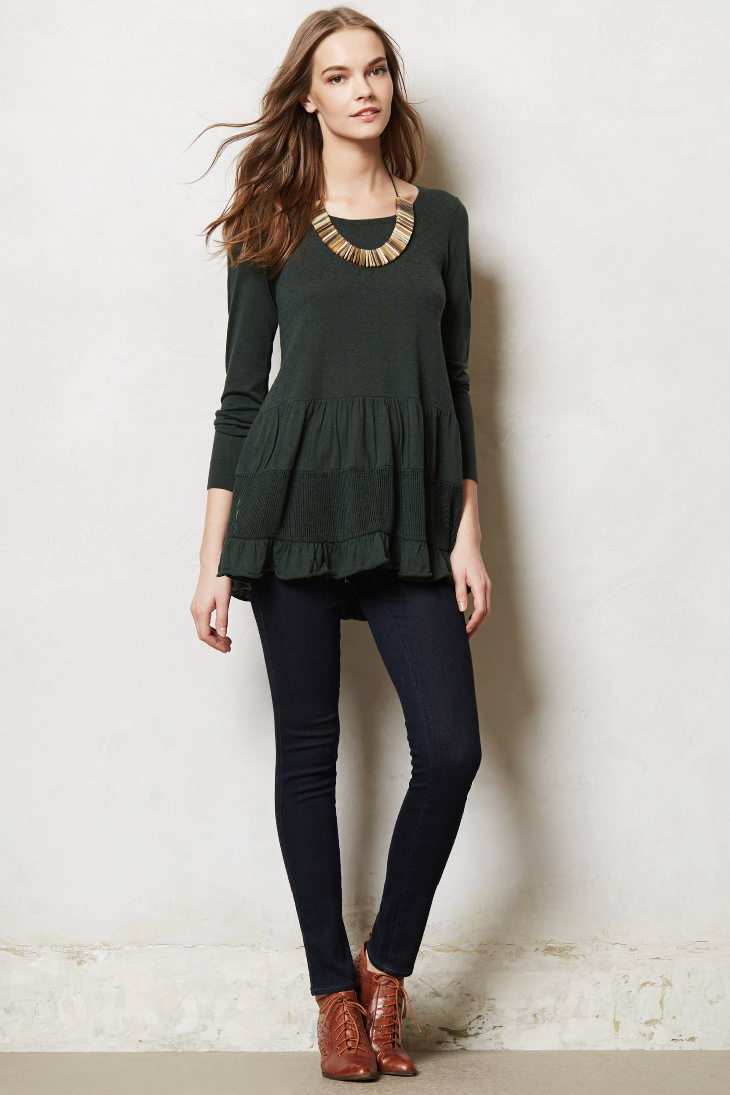 Tiered Sweater Tunic