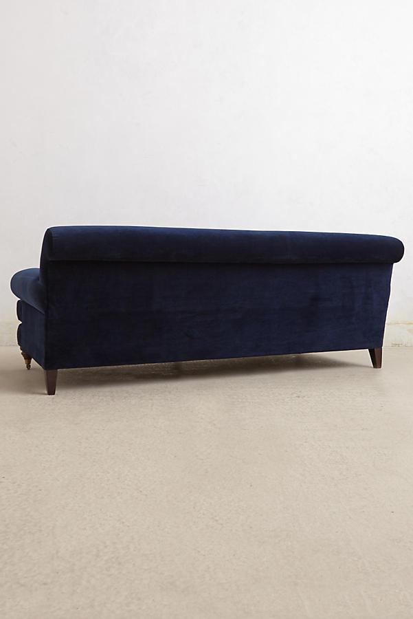 Velvet Willoughby Sofa Hickory Anthropologie