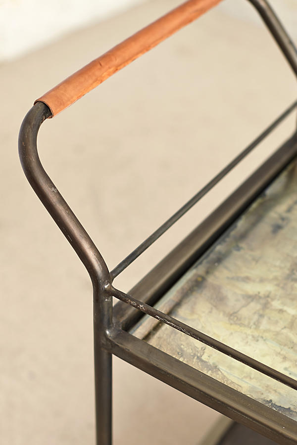 Slide View: 2: Mercury Bar Cart