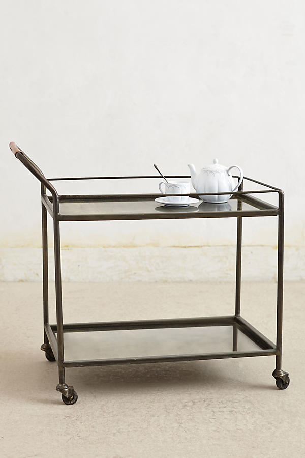 Slide View: 1: Mercury Bar Cart
