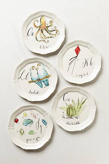 Plates dinnerware anthropologie for Linea carta canape plates