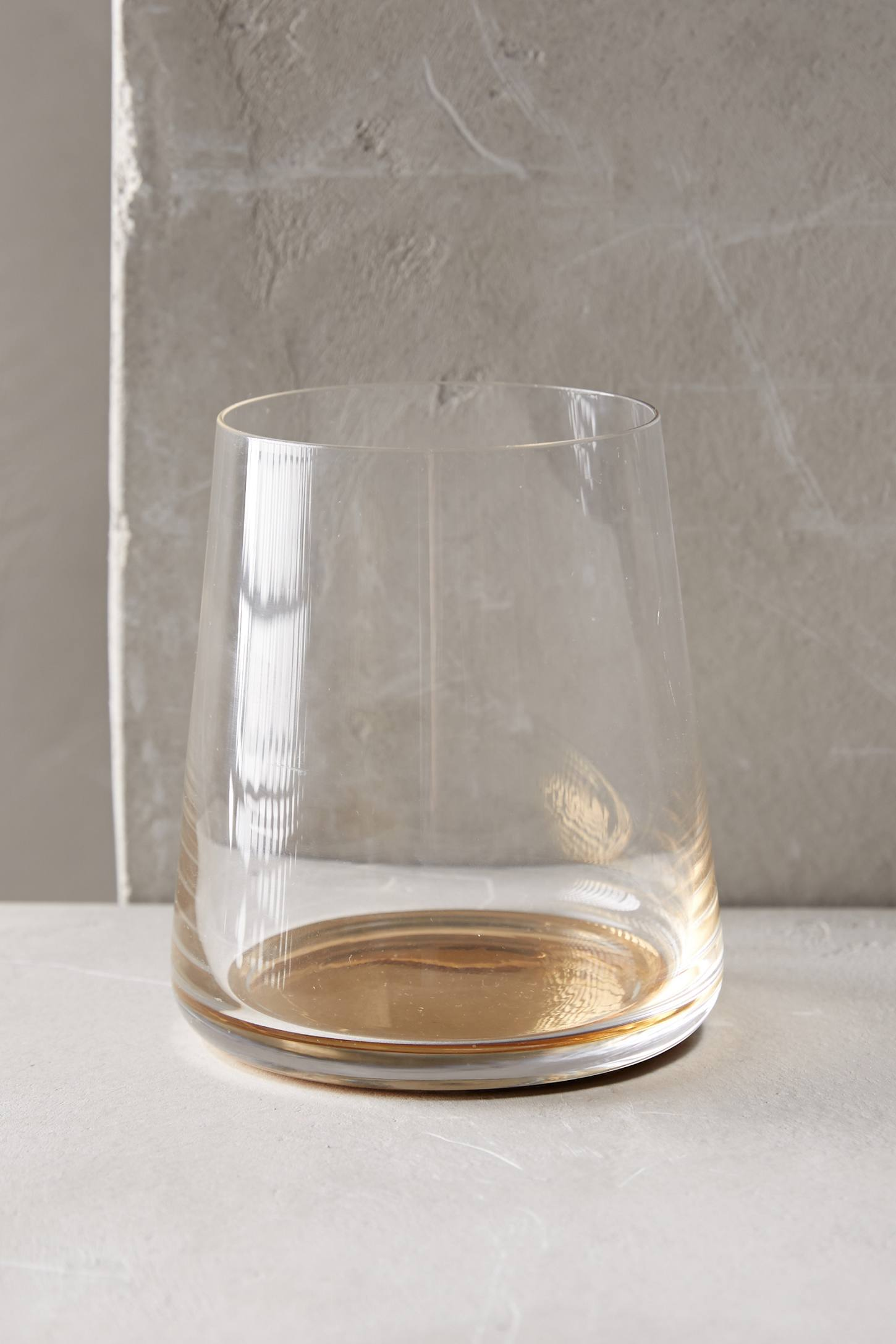 Color-Drop Stemless Wine Glass