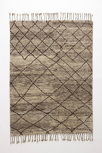 Slide View: 1: Hand-Knotted Adras Rug