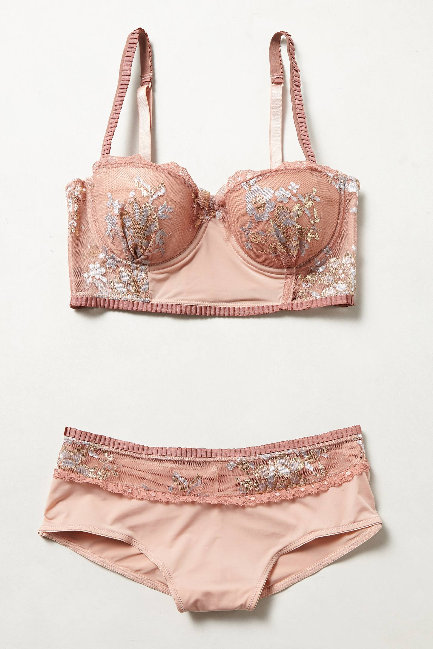 Cameo Long-Line Bra