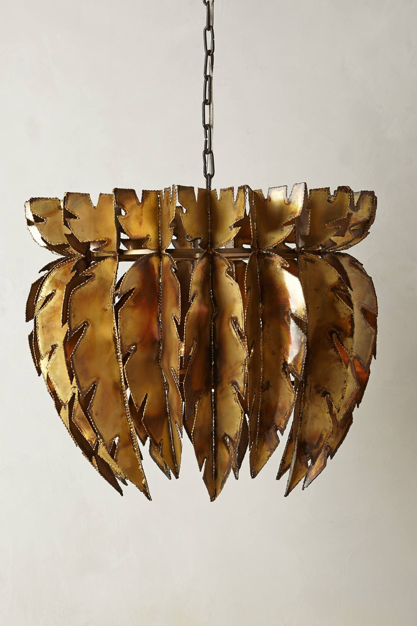 Feathered Chandelier