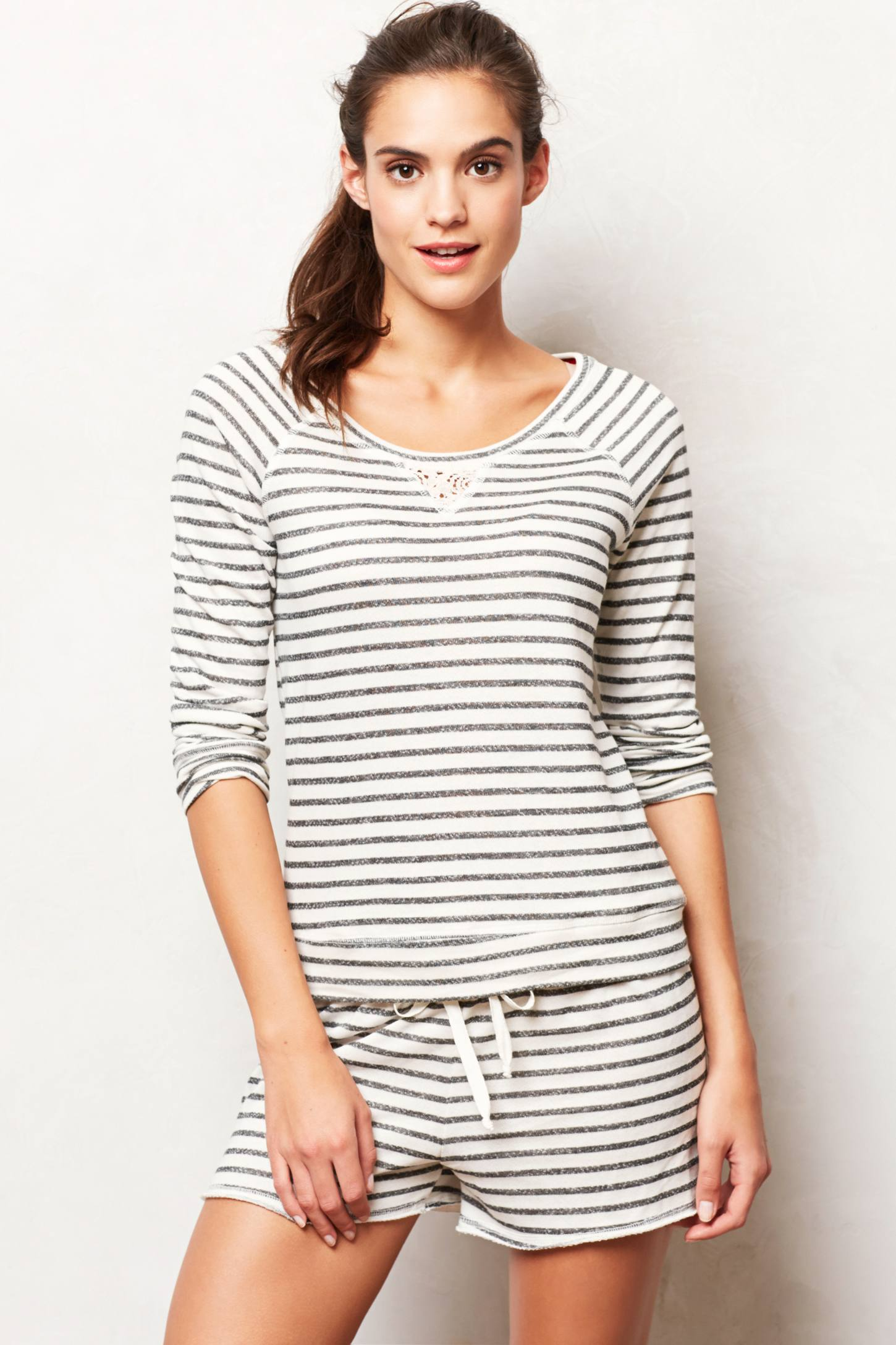 Striped Terry Top