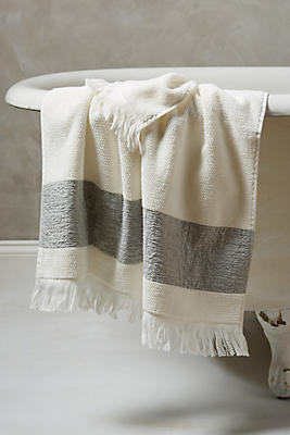 Linen-Edged Towel Collection