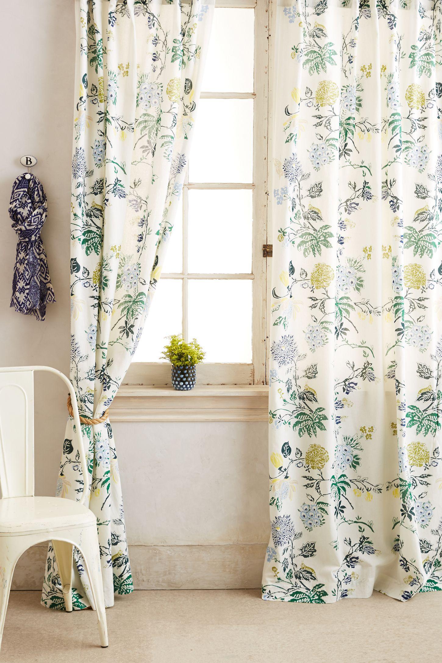 Anthropologie floral shower curtain - Anthropologie Floral Shower Curtain 35
