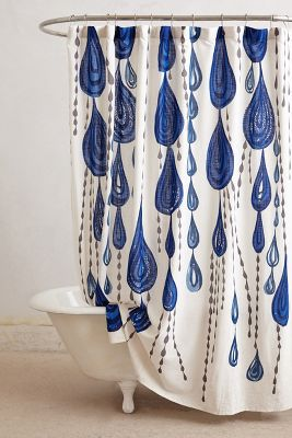 Curtains Ideas anthropology shower curtain : Jardin Des Plantes Shower Curtain | Anthropologie