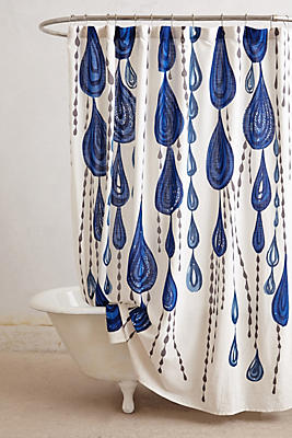 Jardin Des Plantes Shower Curtain Anthropologie