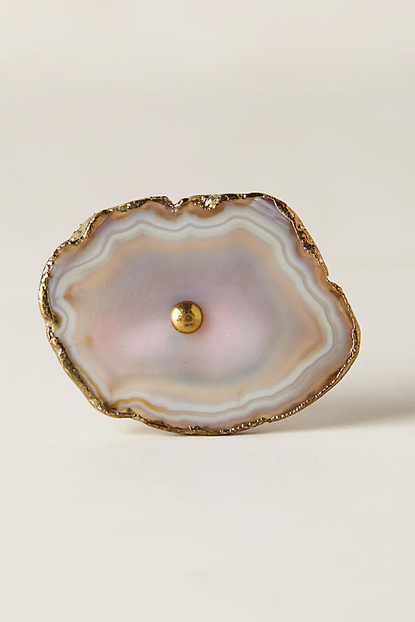 Swirled Agate Knob Anthropologie