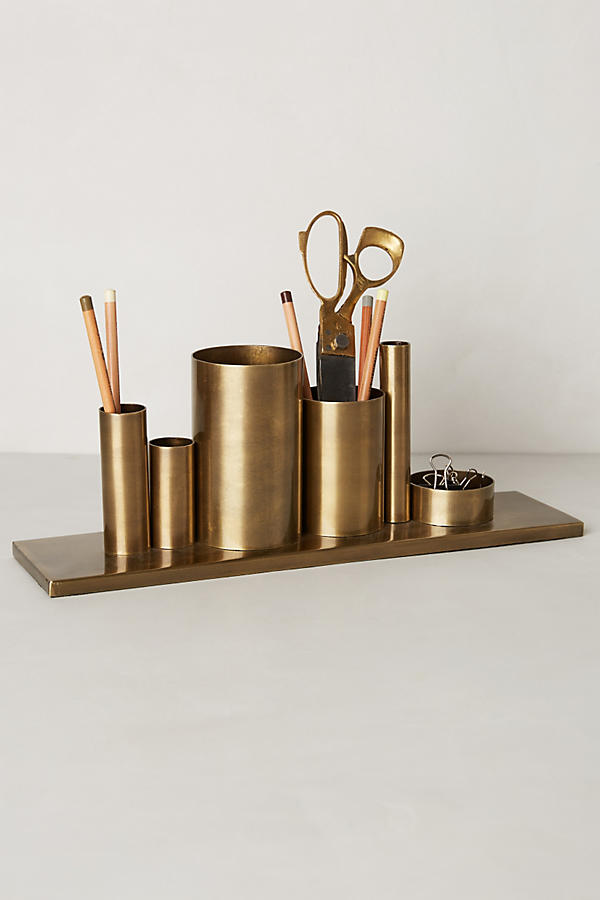 Codify pencil holder anthropologie Diy pencil holder for desk