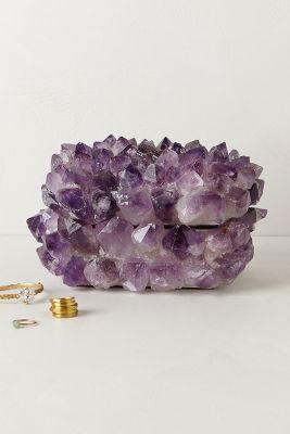 Amethyst Stone Jewelry Box Anthropologie