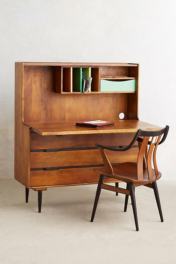 Retractable Writing Desk Anthropologie