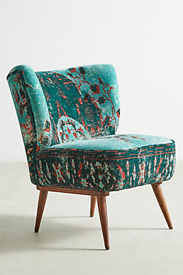 Slide View: 2: Dhurrie Occasional Chair