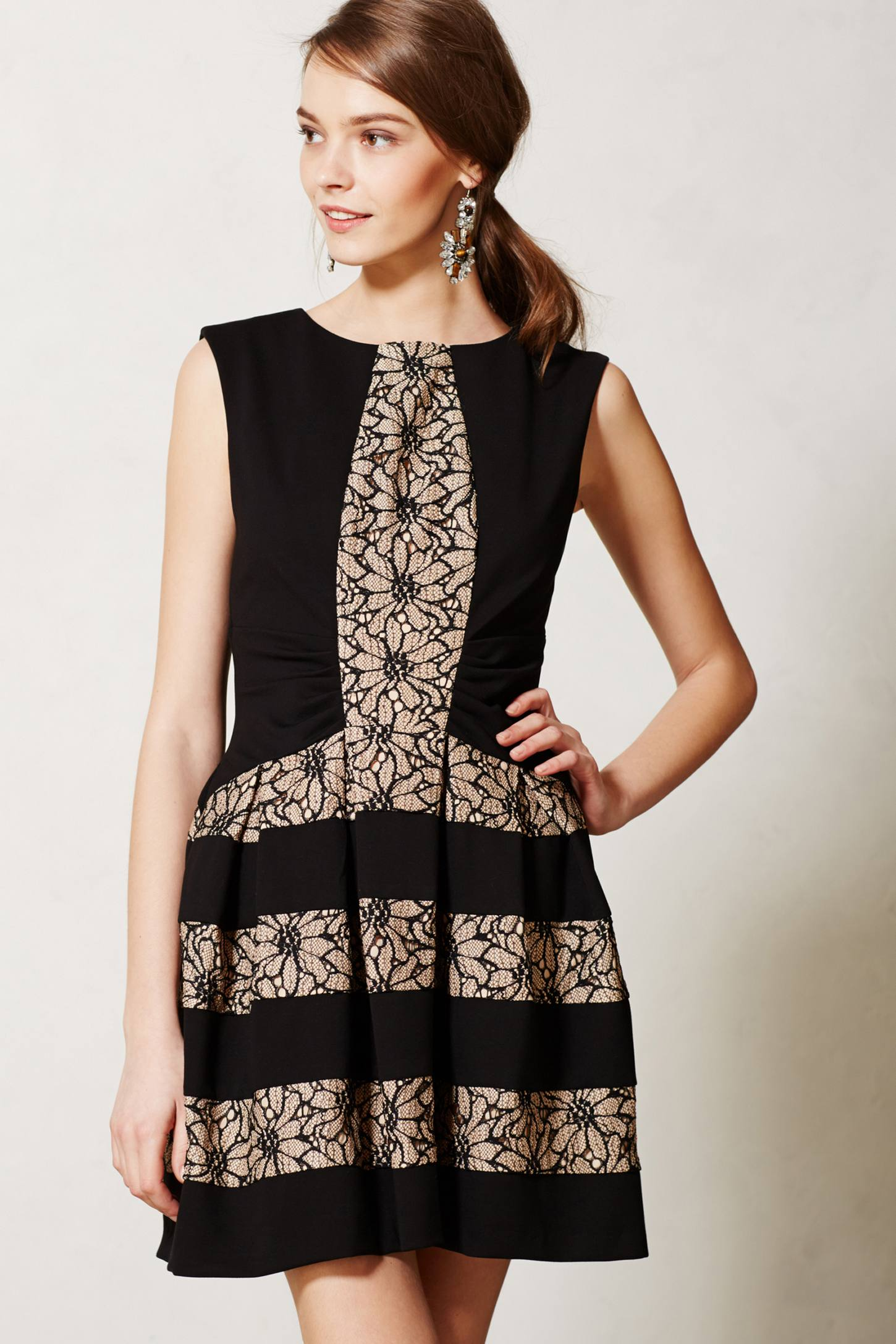 Laced Strata Dress