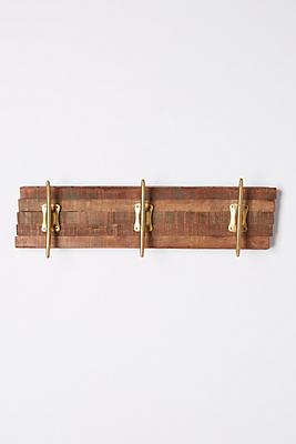 Reclaimed Wood Hook Rack Anthropologie