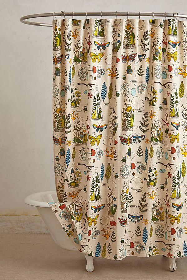 Entomology Shower Curtain   Anthropologie on waterworks bathroom design, kelly wearstler bathroom design, ikea bathroom design, houzz bathroom design,