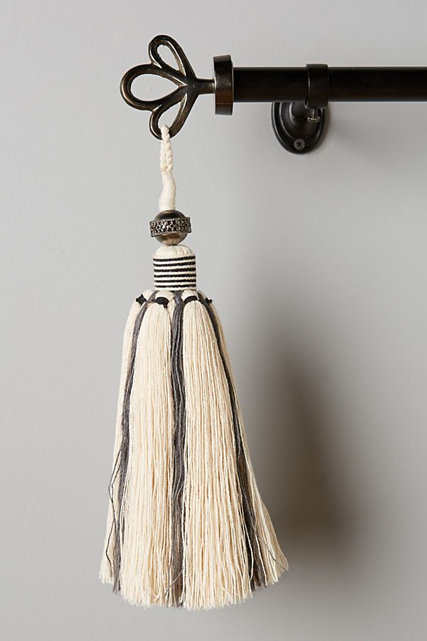 Slide View: 1: Bombay Tassel Finials