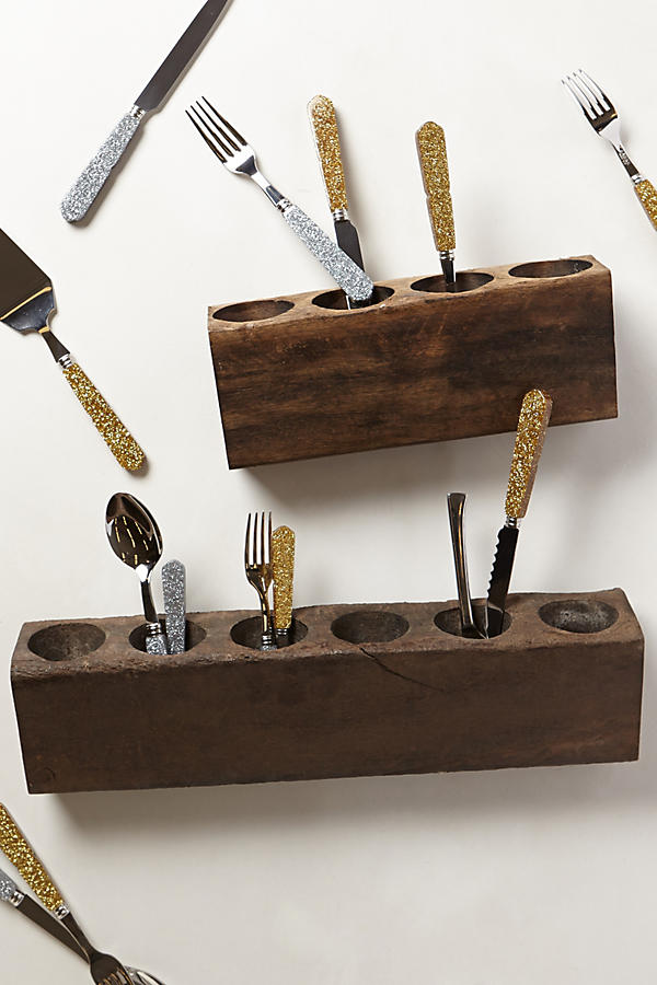 Slide View: 1: Highland Flatware Caddy