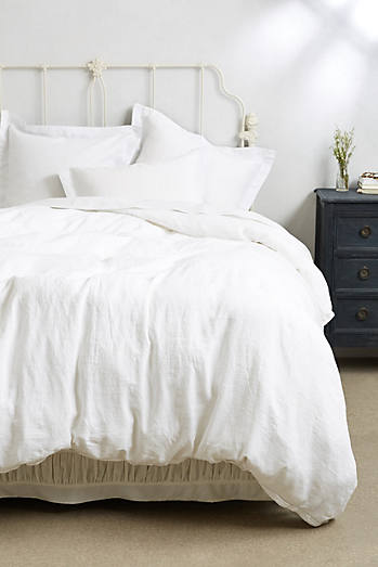 Soft-Washed Linen Duvet Cover