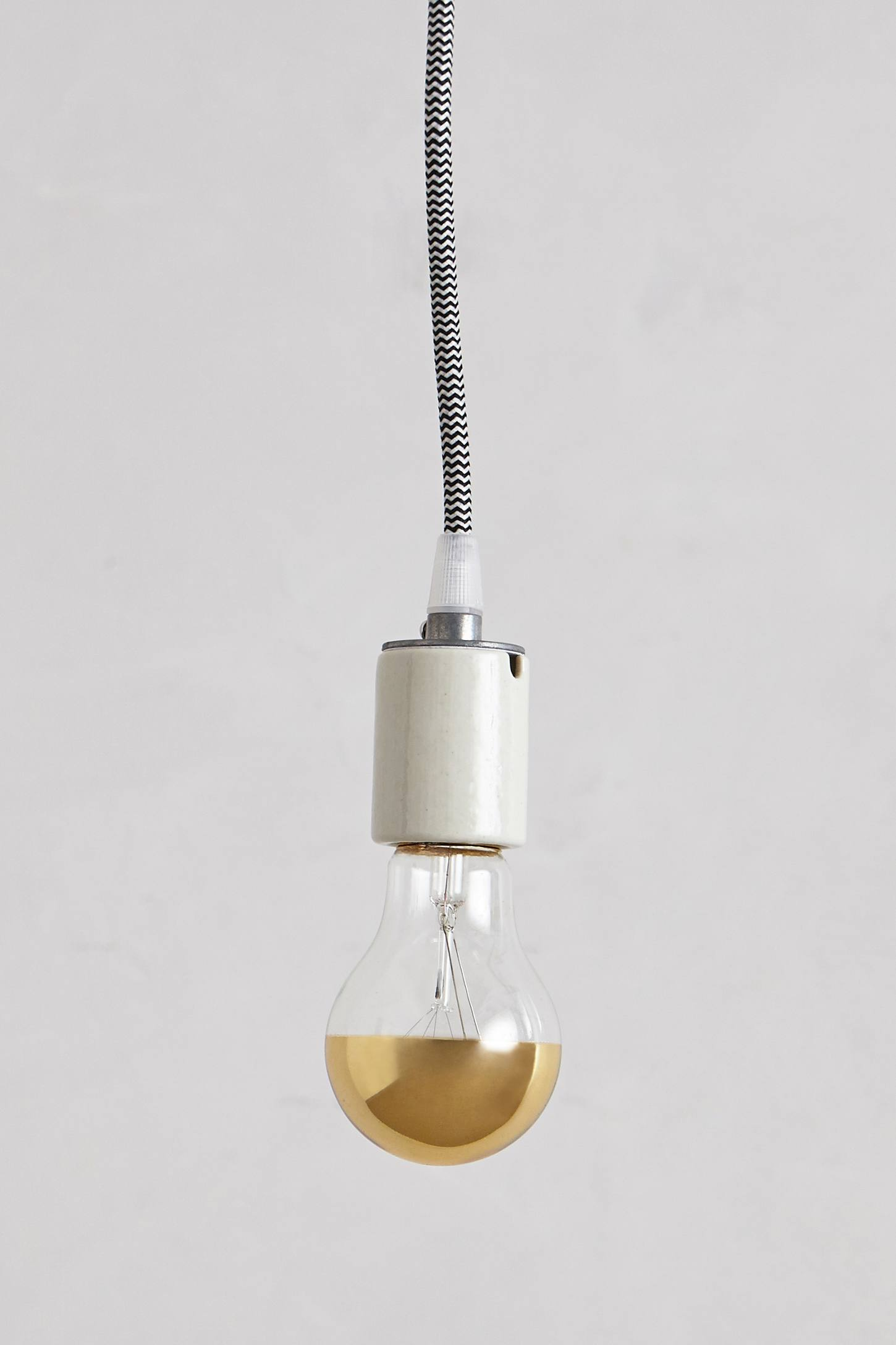 Slide View: 2: Half Gold Light Bulb
