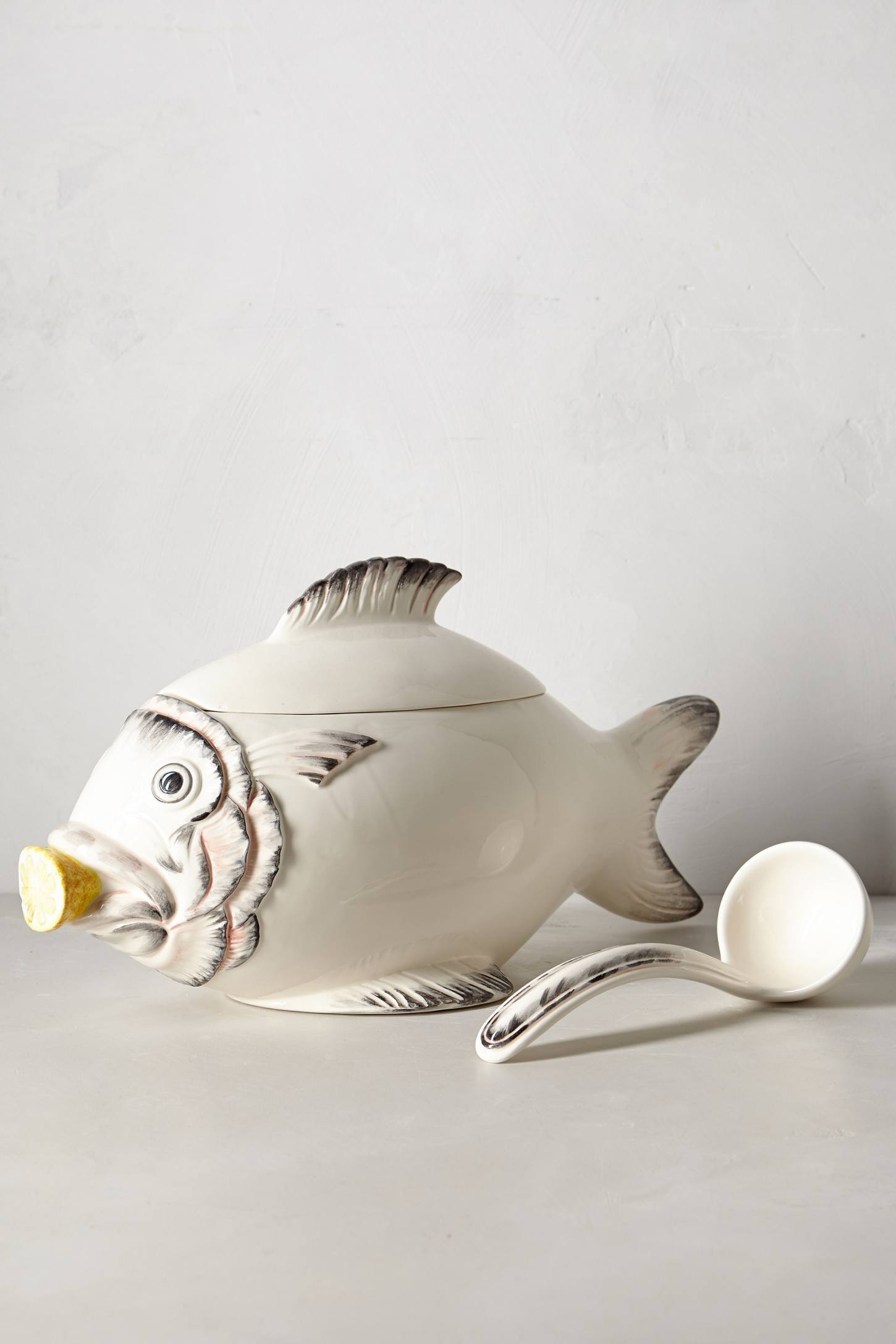 Ceramic Fish Tureen