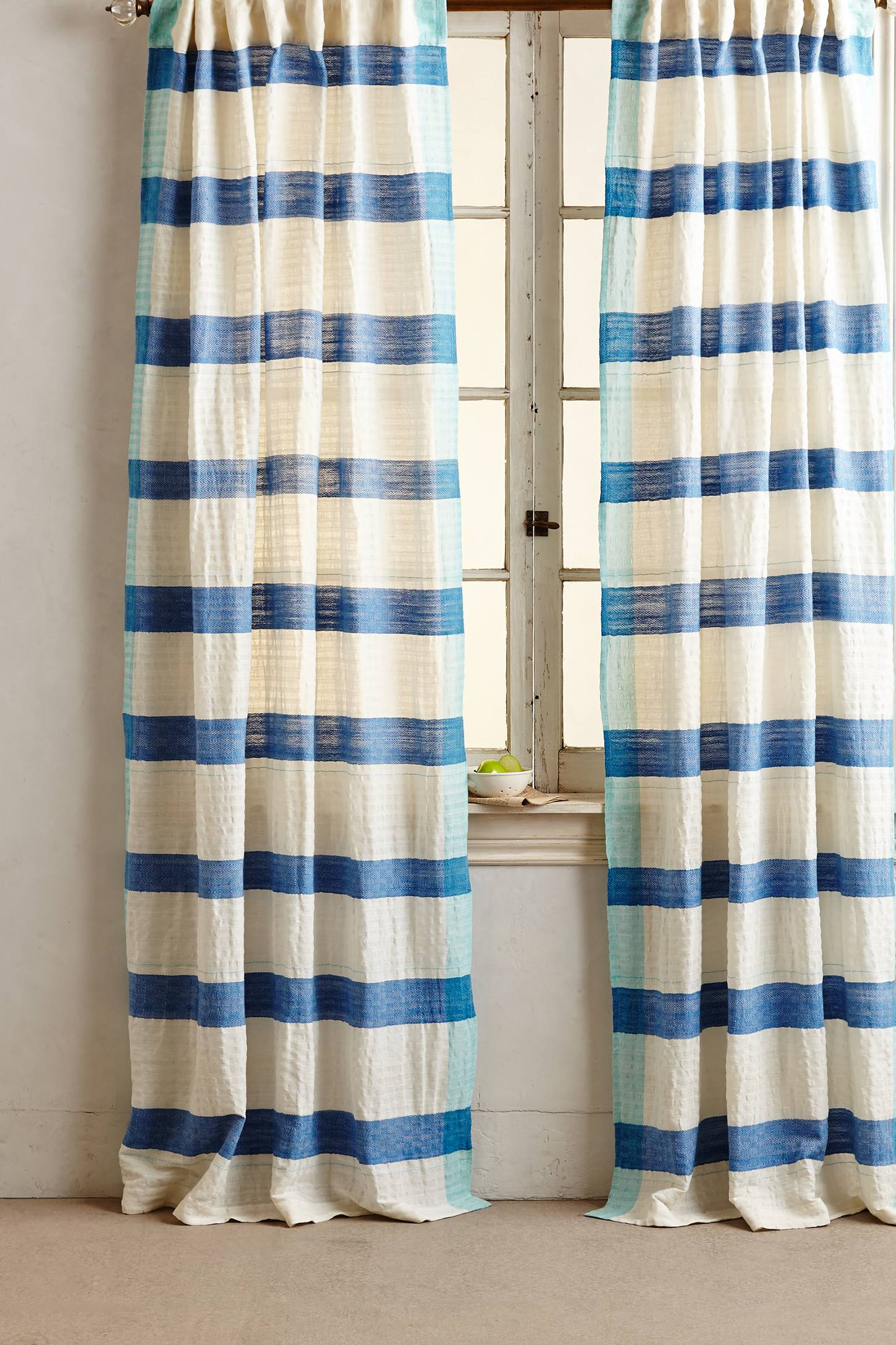 Sanaga Stripe Curtain Anthropologie