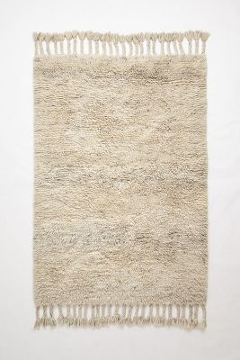 Fringed Flokati Rug Anthropologie