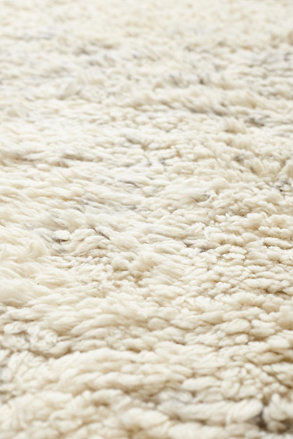 Slide View: 2: Fringed Flokati Rug