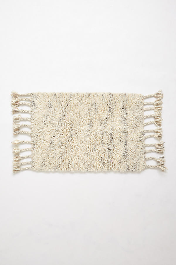 Slide View: 3: Fringed Flokati Rug